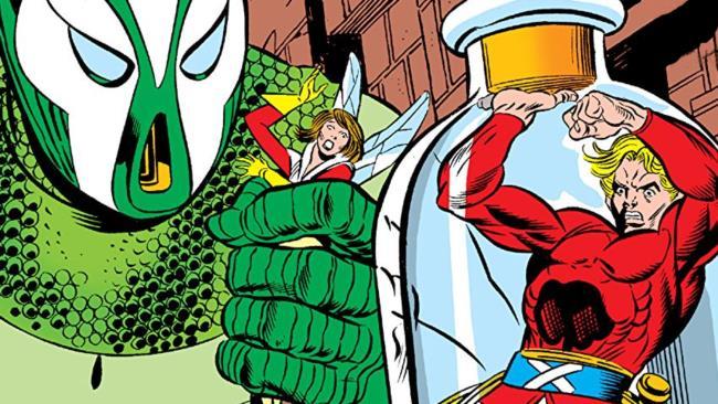 Una tavola de La Fine di Ant-Man