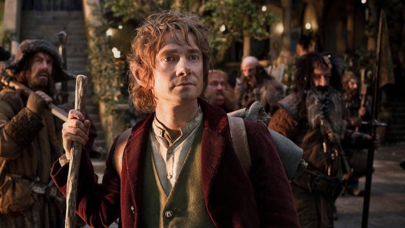 Una scena dei film di Lo Hobbit