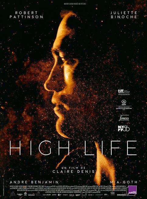 Il poster ufficiale di High Life