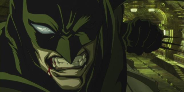 Batman Ninja scena