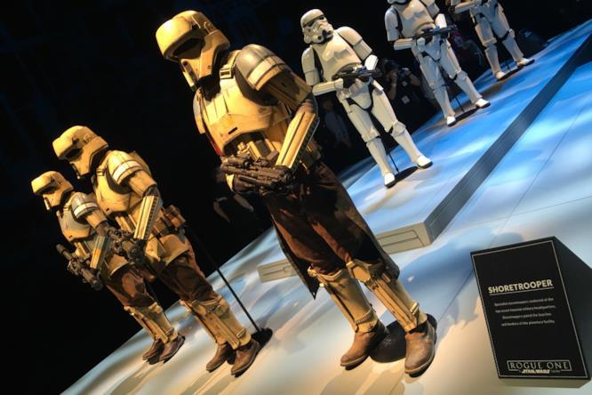 Shoretrooper Stormtroopers che presidiano i quartieri top secret dell'Impero. Controllano le spiagge in particolar modo, come suggerisce il loro nome.