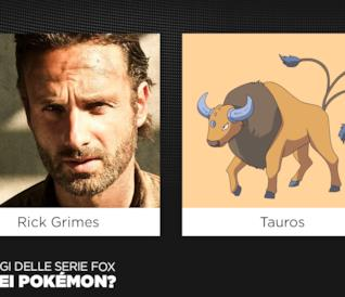 Una gallery che mette a confronto i protagonisti di MondoFox e i Pokemon