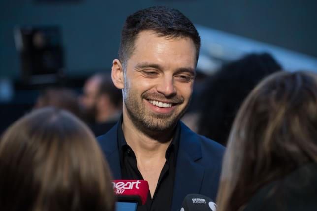Primo piano di Sebastian Stan