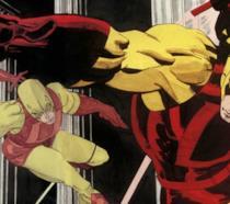 Una tavola di Daredevil: Giallo