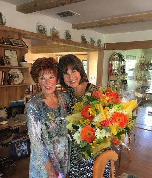 Happy Days: Cathy Silvers e Marion Ross
