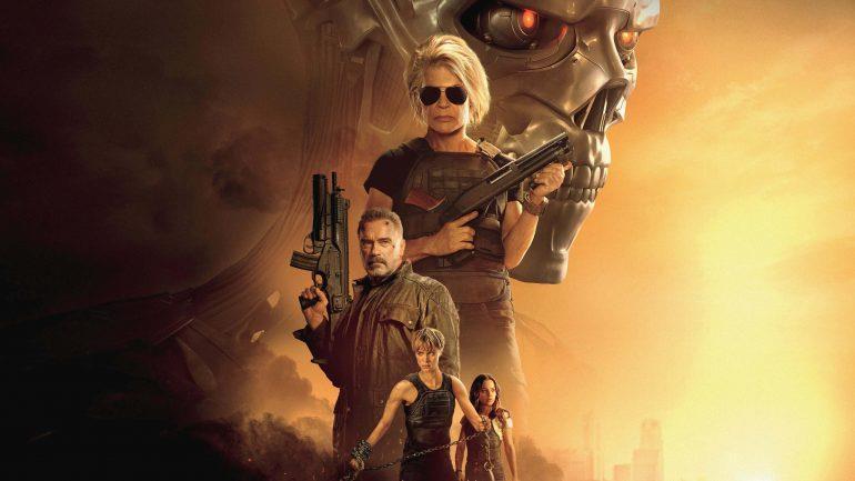 I protagonisti di Terminator: Destino Oscuro nel poster del film