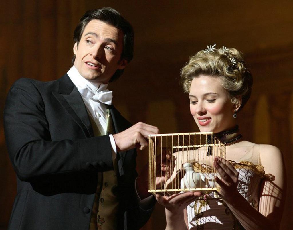 Robert e Olivia durante una esibizione