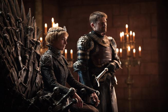 Cersei e Jamie Lannister nella Fortezza Rossa