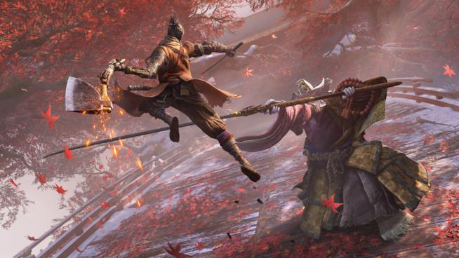 Sekiro: Shadows Die Twice in azione
