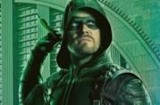 Green Arrow nel poster della quinta stagione dello show
