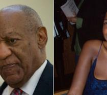 A sinistra Bill Cosby, a destra Ensa Cosby