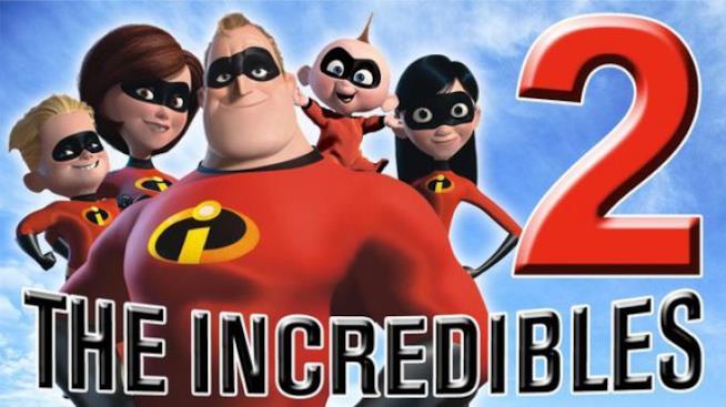La famiglia Parr nelle loro vesti di supereroi