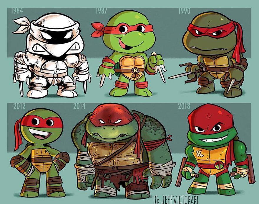 L'evoluzione delle icone della cultura pop: Raffaello delle Tartarughe Ninja