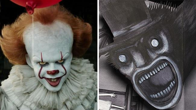 Pennywise e Babadook nei film IT e Babadook