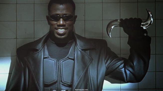 Un'immagine del film Blade