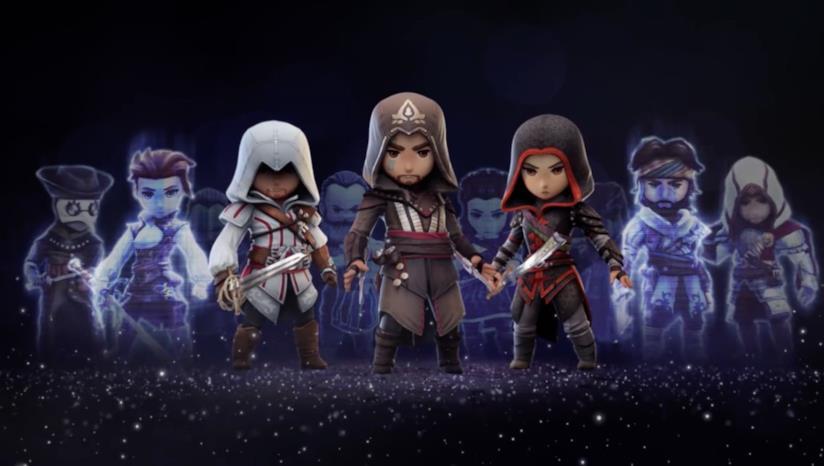Alcuni dei protagonisti di Assassin's Creed Rebellion