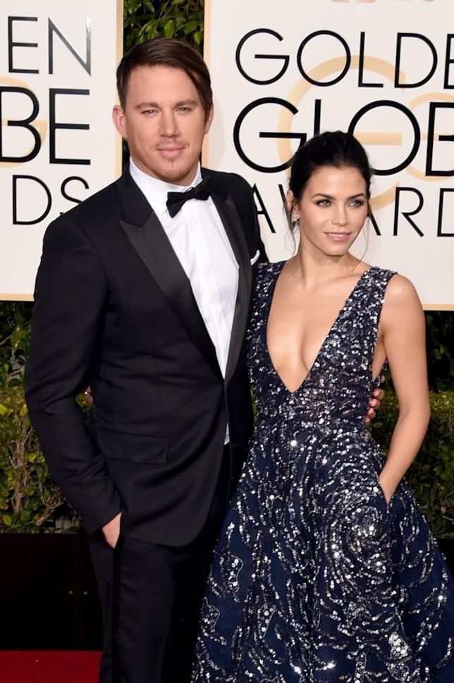 Channing Tatum e la moglie