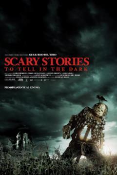 Lo spaventapasseri nel poster italiano di Scary Stories to Tell in the Dark
