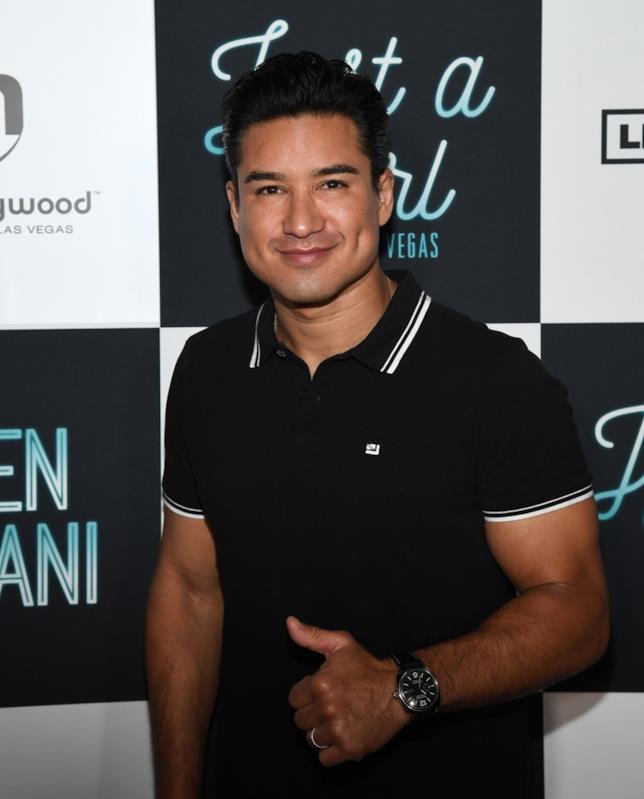 Mario Lopez in una foto recente