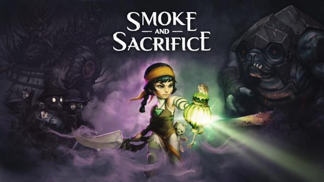 La copertina ufficiale di Smoke and Sacrifice