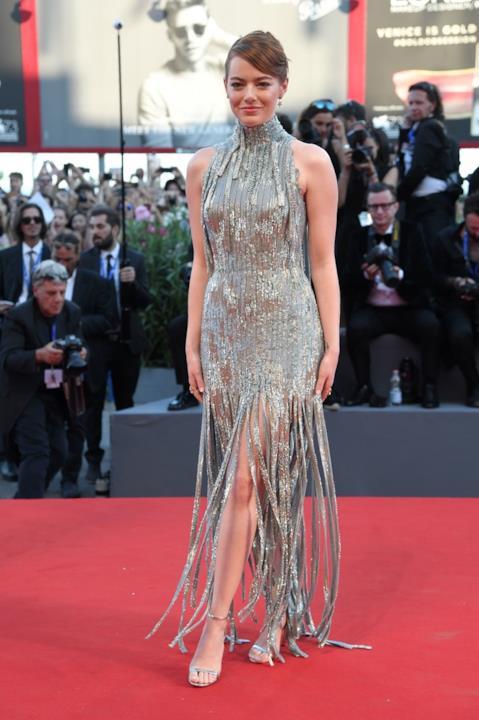 Emma Stone a Venezia 73