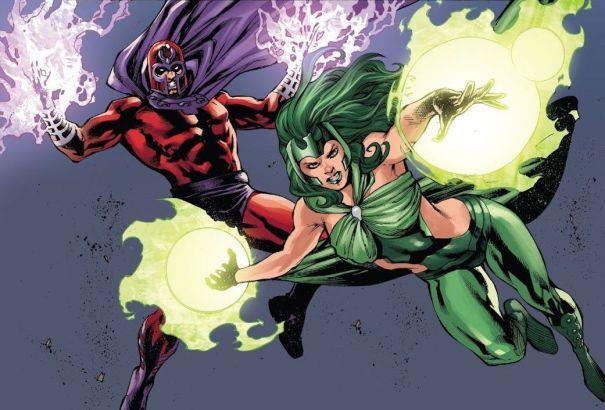X-Men: Magneto e Polaris
