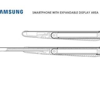 Il possibile Galaxy Roll di Samsung con schermo arrotolabile