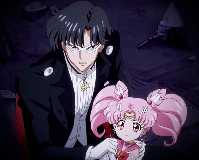 Sailor Moon - Chibiusa e Milord