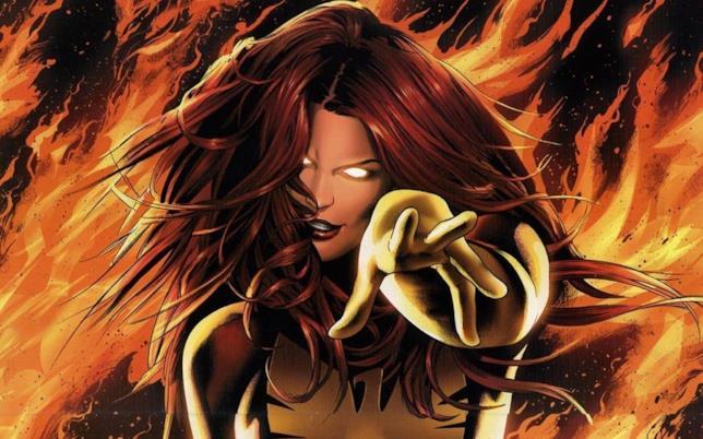 La fenice nera ritratta nei fumetti sugli X-Men