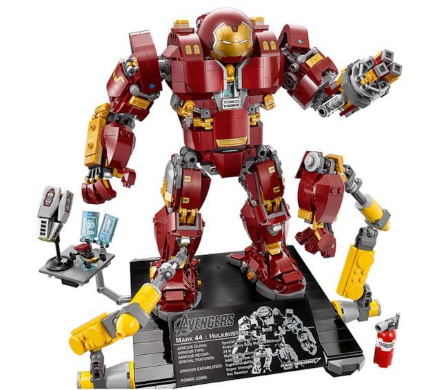 Dettagli del set LEGO Hulkbuster: Ultron Edition