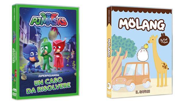 Pj Masks - Un caso da risolvere e Molang - Il safari e altre storie - Home Video