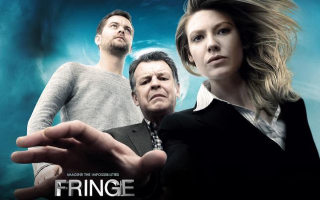 I protagonisti della serie di fantascienza Fringe