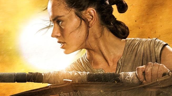 Daisy Ridley è Rey nell'universo di Star Wars