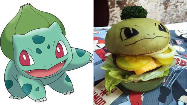 Bulbasaur Burger