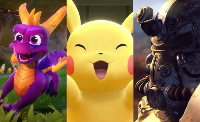 Alcuni dei videogame attesi a novembre 2018