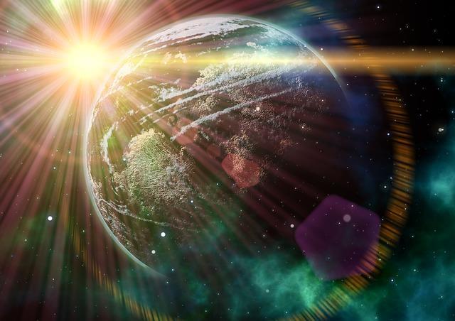 Il mondo visto dallo Spazio
