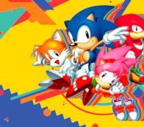 Tutti gli eroi di Sonic Mania sulla copertina del gioco