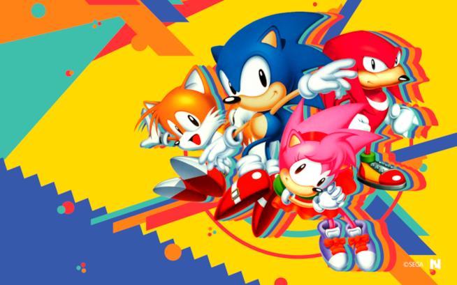 Sonic mania un cartone animato introduce il nuovo