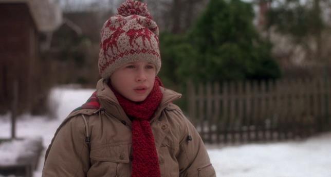 Il protagonista Kevin nel film
