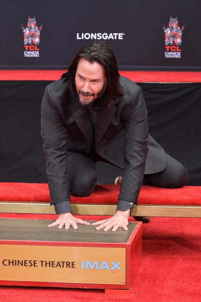 Keanu Reeves, attore e regista canadese