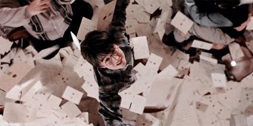 Harry Potter riceve le lettere da Hogwarts