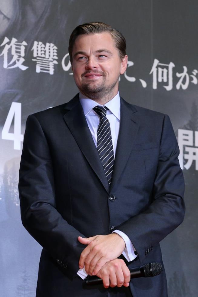 Leonardo DiCaprio alla première di The Revenant a Tokyo