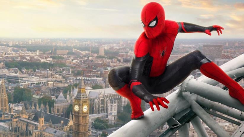 Spider-Man in un post di Spider-Man: Far From Home