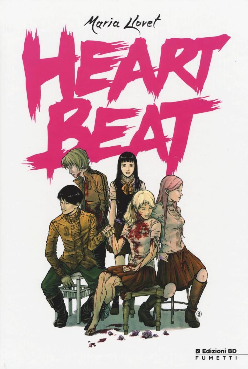 Copertina del graphic novel Heartbeat