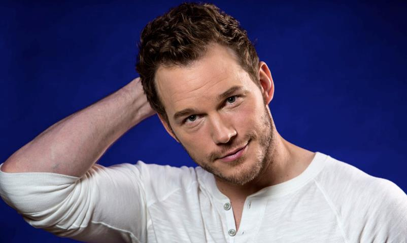 Chris Pratt in primo piano