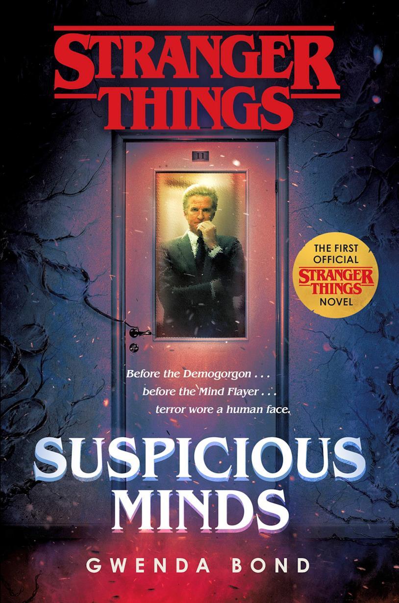 Copertina del primo romanzo ufficiale di Stranger Things