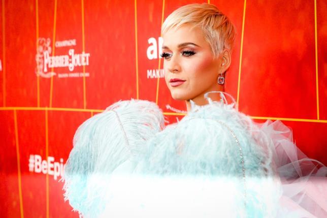 Un primo piano di Katy Perry