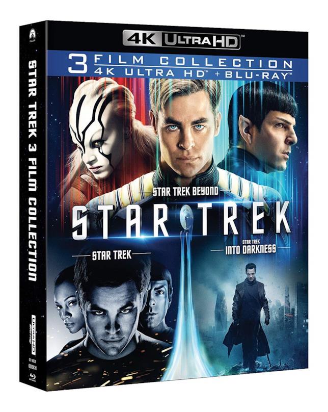 Il cofanetto della Star Trek Collection