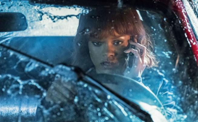 Rihanna in una scena di Bates Motel