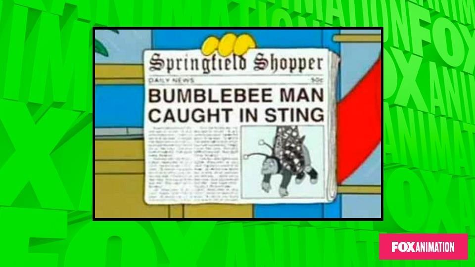 L'uomo ape catturato con le mani nel miele.